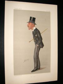 Vanity Fair Print 1888 William Bartlett Dalby, Doctor